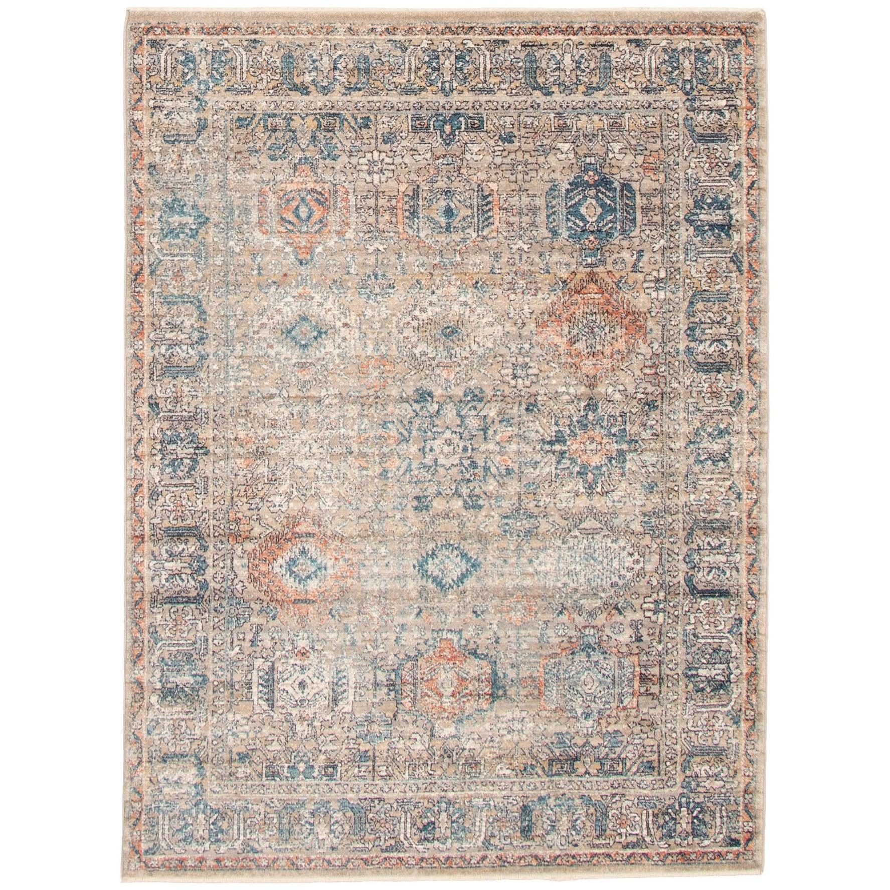 Shop Ecarpetgallery Bolivia Yalameh Blue Grey Polypropylene Rug 6 7 X 8 6 On Sale Overstock 31634271
