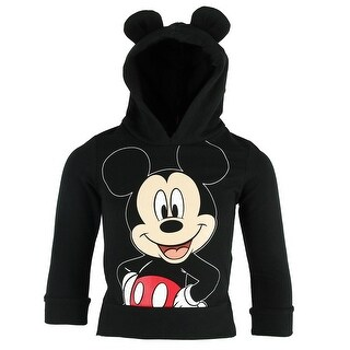 Disney Toddler Mickey Mouse Hoodie Pullover with Ears