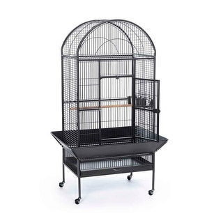 "Prevue Pet Dome Top Cage Black 30"" L x 22"" W x 66"" H - 34531"
