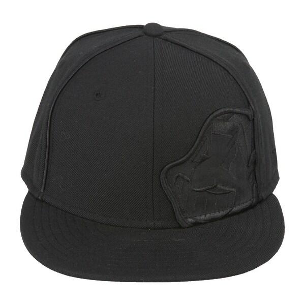 93c8bcbaf Shop New Era Cleveland Indians Fitted Hat - Black 7 - Free Shipping ...