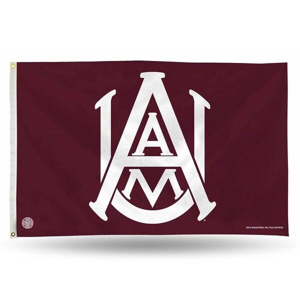 3' x 5' Maroon College Alabama A and M Bulldogs Rectangular Banner Flag - N/A