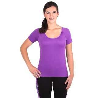 Noble Outfitters Shirt Womens Short Sleeve Kassidy Dropback Logo 22508