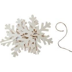 - 3D Snowflake Ornament 6""