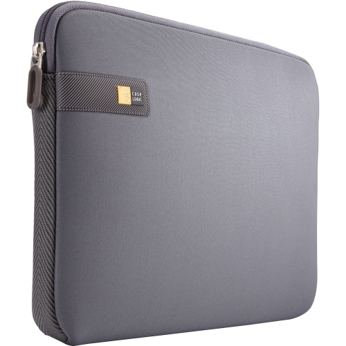 "Case Logic LAPS114GRAPHITE Case Logic LAPS-114 Carrying Case (Sleeve) for 14.1"" Notebook - Gray, Graphite - Impact"