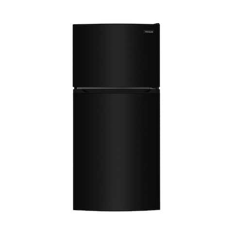 Frigidaire FFHT1425VB 13.9 Cu. Ft. Top Freezer Refrigerator - Black
