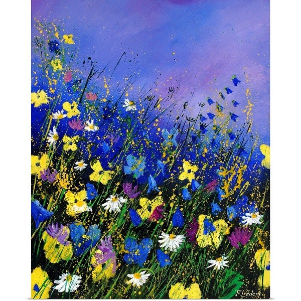"""Wild Flowers 560908"" Poster Print"