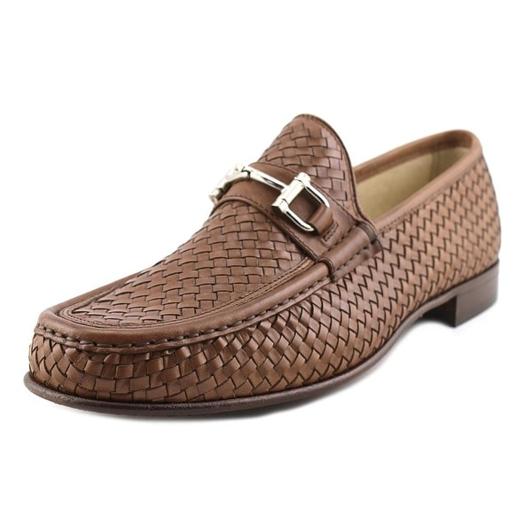 Mercanti Fiorentini 855 Women Moc Toe Leather Brown Loafer