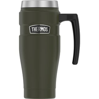 Thermos 16oz Ss Travel Mug Matte Army Green Sk1000ag4