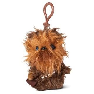 """Star Wars 4"""" Mini Talking Plush Clip On: Chewbacca - multi"""