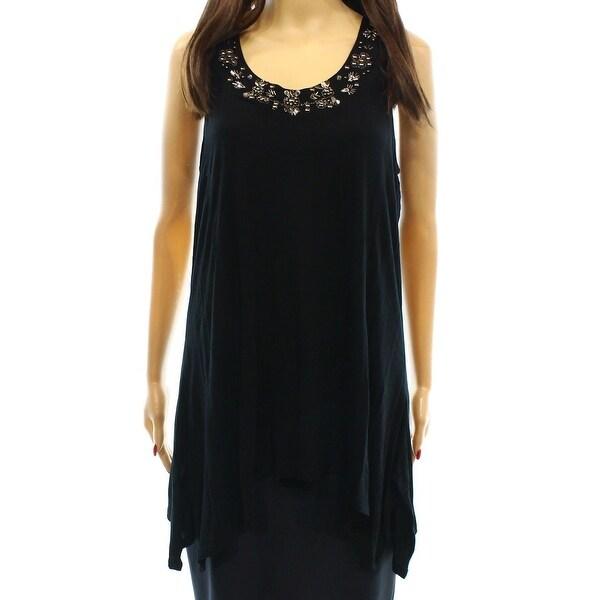 Shop Cable Gauge New Black Womens Size Large L Embellished Tunic