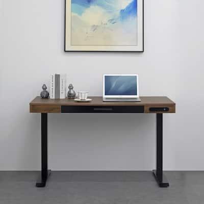 51-in Electric Height-adjustable Standing Desk