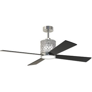 """Craftmade 19054 Marissa 52"""" 4 Blade Ceiling Fan - Blades, Remote, and LED Light Kit Included"""