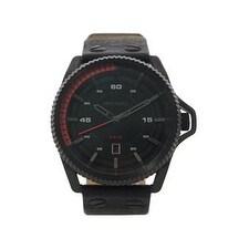 Diesel Dz1728 Rollcage Black Dial Stainless Steel Fabric Watch Watch For Men