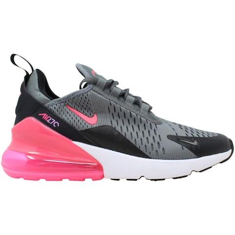 Nike Air Max 270 Smoke Grey/Hyper Pink-Black 943345-031 Grade-School