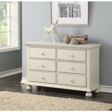 Allison Antique White 6-drawer Dresser by Greyson Living