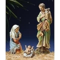 3-Piece Joseph's Studio Holy Family Religious Christmas Nativity Set - multi