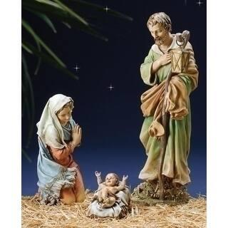 3 piece josephs studio holy family religious christmas nativity set multi - Christmas Nativity Scenes