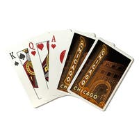 Chicago, IL - Chicago Theatre - LP Photography (Poker Playing Cards Deck)