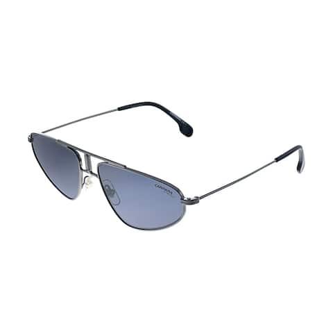 Carrera CA Carrera1021 V81 Womens Black Frame Grey Lens Sunglasses