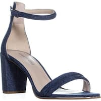 Kenneth Cole Lex Round Toe Ankle Strap Sandals, Blue