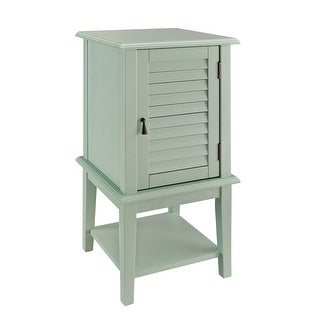 "Powell Home Fashions 351  15 1/2"" Wide Shutter Door End Table"
