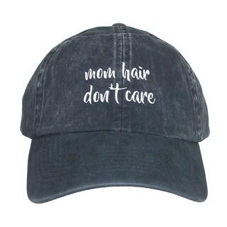 David & Young Women's Cotton Mom Hair Don't Care Baseball Cap