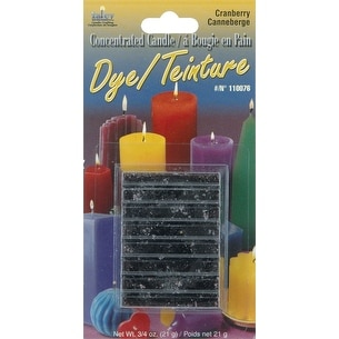Concentrated Candle Dye .75oz Block-Cranberry - Red