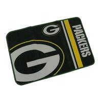 Green Bay Packers 20 By 30 Inch Tufted Non-Skid Officially Licensed Bath Rug