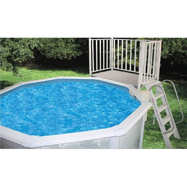Shop Above Ground Free Standing Swimming Pool Deck 3 X 5