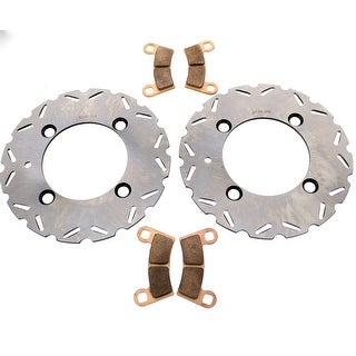 Brake Rotors and Brake Pads Polaris RZR S4 900 2018 Rear RipTide by Race-Driven