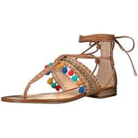 Vince Camuto Womens Balisa Open Toe Casual T-Strap Sandals