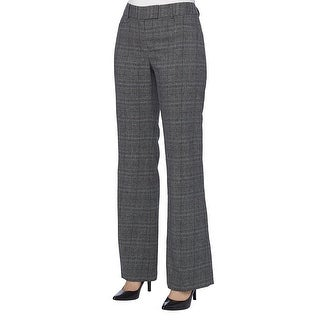 Tahari ASL Petite Plaid Trousers Dress Pants Slacks
