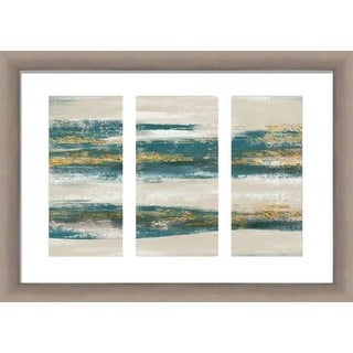 PTM Images 2-14174 Soft Hues Abstract Wall Art in Teal