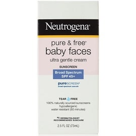 Neutrogena Pure and Free Baby Faces SPF 45+ 2.5 oz