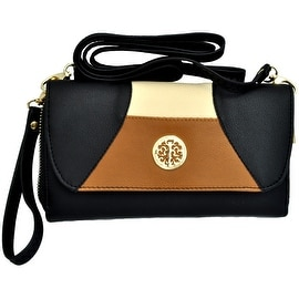 Cross-Body Handbag Clutch Detachable Strap Wrist Strap Wallet Wristlet