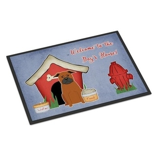 Carolines Treasures BB2865MAT Dog House Collection Chinese Chongqing Dog Indoor or Outdoor Mat 18 x 0.25 x 27 in.