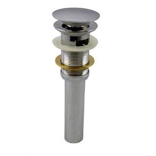 Chrome Pop-up Sink Drain With Overflow Quality Brass | Renovator's Supply