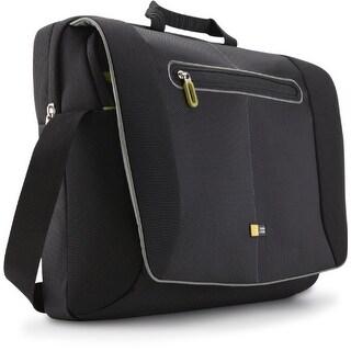case logic PNM217BLACKB Case Logic PNM-217 17-Inch Laptop Messenger Bag (Black)