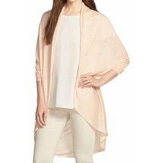 Eileen Fisher NEW Orange Womens Size XL Flyaway Cocoon Cardigan Sweater