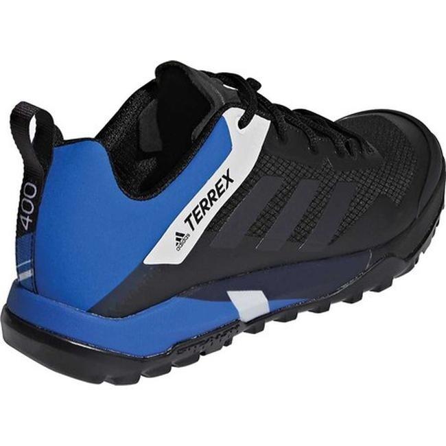 ccf96ab227c adidas Men's Terrex Trail Cross Sl Bike Hiking Shoe Black/Carbon/Blue Beauty