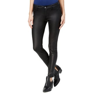 Celebrity Pink Womens Juniors Skinny Pants Coated Stretch