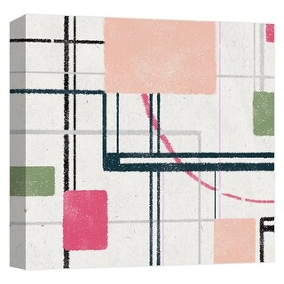 "PTM Images 9-124595  PTM Canvas Collection 12"" x 12"" - ""Motherboard I"" Giclee Abstract Art Print on Canvas"