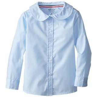 French Toast Girls 2T-4T Long-Sleeve Peter Pan Blouse