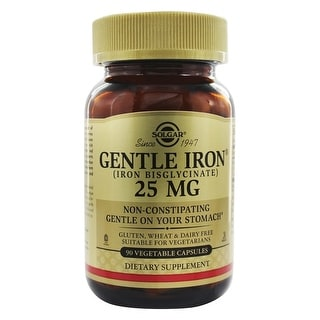 Solgar Gentle Iron (90 Vegetable Capsules)