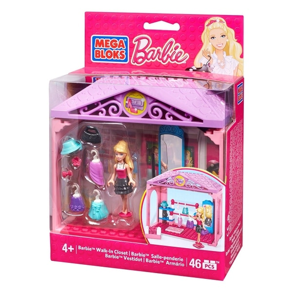 Mega Bloks Barbie - Walk-in Closet Building Kit