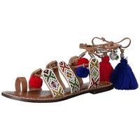 Sam Edelman Womens Gem Open Toe Casual Slide Sandals