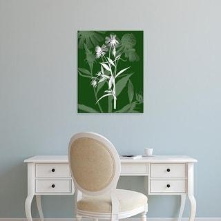 Easy Art Prints James Burghardt's 'Jewel Stems III' Premium Canvas Art