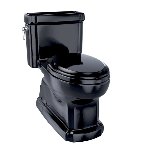 Toto MS974224CEF 1.28GPF ADA Compliant One-piece Elongated Toilet with Fast Flush - Ebony