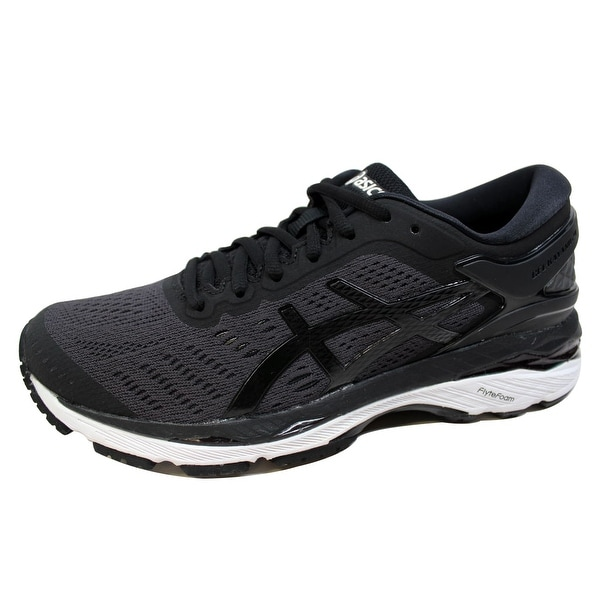 Shop Asics Women s Gel Kayano 24 Black Phantom-White T799N 9016 ... bfea3ec472