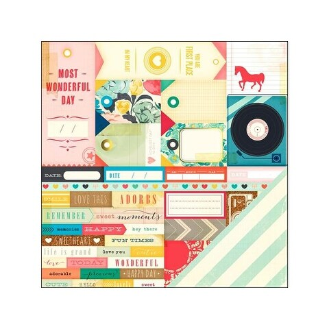 Crate Paper MH Styleboard 12x12 Inspiration